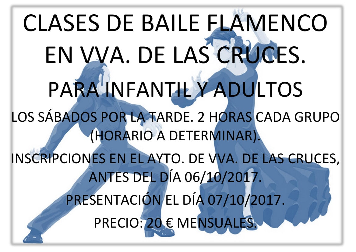 Cartel Baile Flamenco